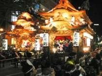 【毎年5月3日~5日】浜松祭り『夜の部』 -御殿屋台引き回し-