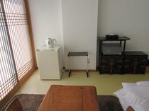 全部屋設置、金庫と冷蔵庫配置例。