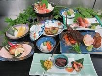 伊勢海老プラン夕食例