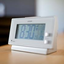 客室備品【イメージ】目覚まし時計 スーパーホテル鹿嶋