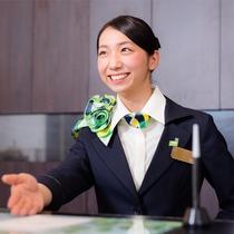 チェックイン時はご記帳から【イメージ】スーパーホテル鹿嶋