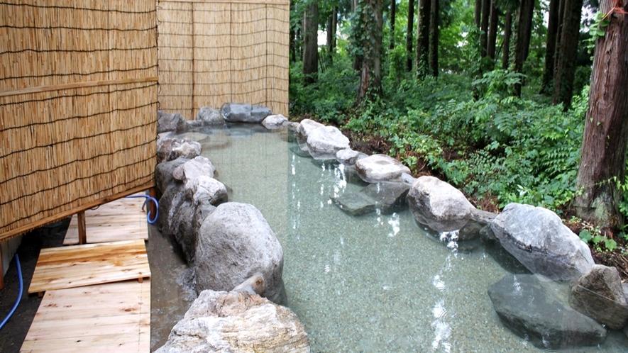 *【混浴露天】男女大浴場からいける混浴露天風呂です。