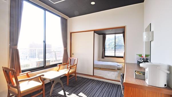 <禁煙>和室8畳+居間(1〜5名)【本館】B0