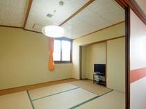 【喫煙和室6畳+居間(本館)B6】