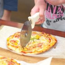 【ピザ作り】