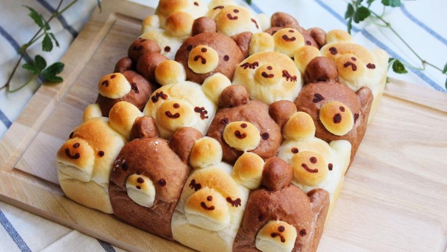 こんな可愛いパンも作れちゃいます♪