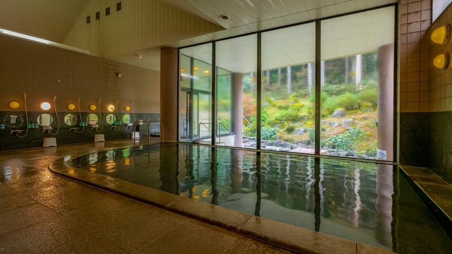 かわだ温泉は肌がすべすべになる重曹泉と 動脈硬化防止に効能のある芒硝泉が含まれる珍しい温泉です。
