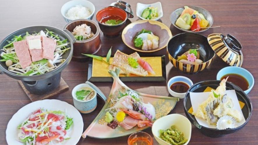 地元福井でとれた食材を中心にこだわりのコース料理をご用意いたします!