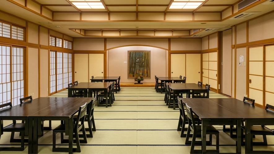 和室42畳の「薄墨桜」ではご宴会も承ります。