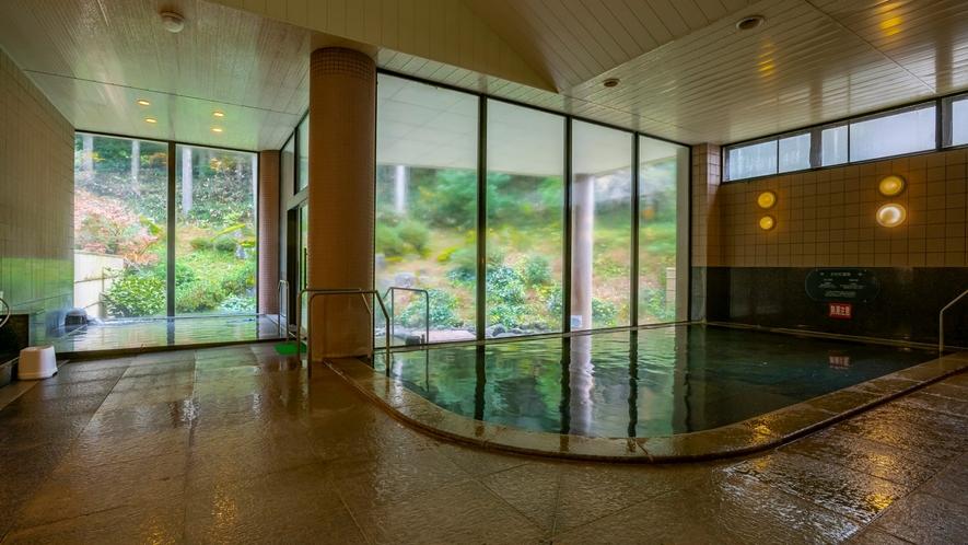 重曹泉と芒硝泉が同時に含まれる日本で数例の珍しい温泉です!