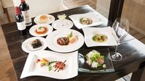 一泊2食付きのおすすめ満足プラン! ディナーをゆっくり時間をかけてお楽しみ下さい。