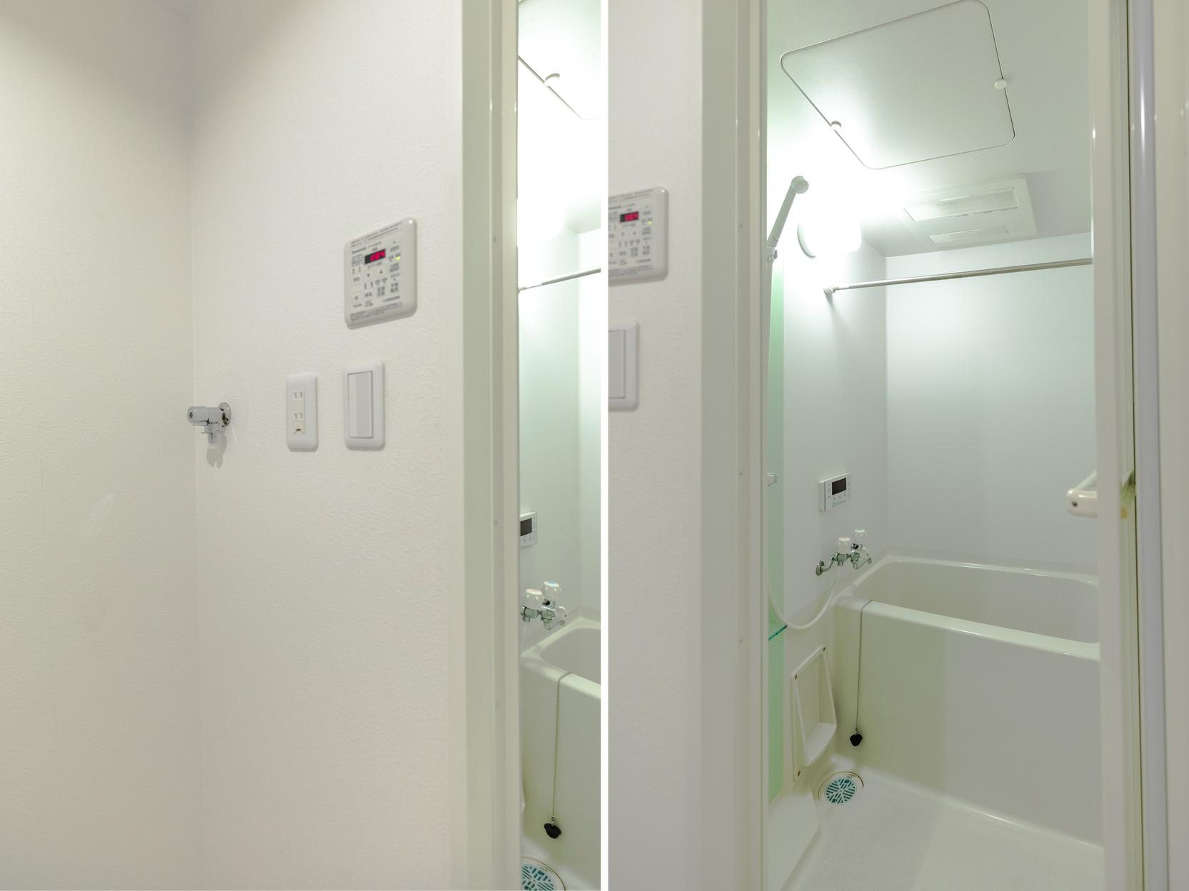 セミダブルルーム 2 浴室