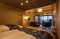 2階客室 天 ten ベッド