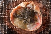 カニ料理イメージ 甲羅焼