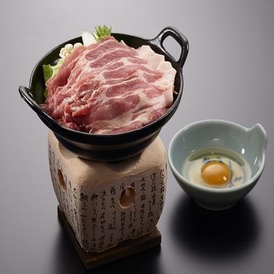 ☆お勧め料理プラン☆信州産ポークすき焼き鍋がメイン料理