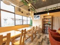 館内カフェ「SAKURA Cafe」