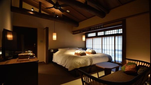 白藍 2階 京町屋ダブル風和室