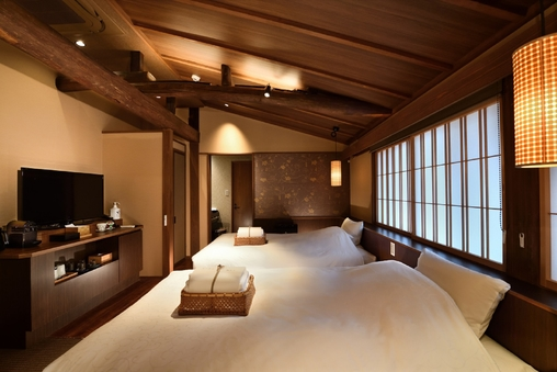 藤紫 2階 京町屋 ツイン風和室