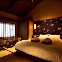 瑠璃(京町屋ダブルベッド和室)