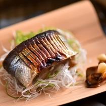 秋の京会席一例:焼肴