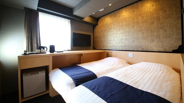 全室禁煙◆和ツインルーム◆13平米/布団サイズ90cm×2組