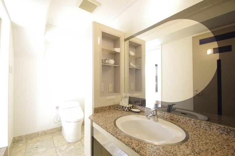 デラックスツインルーム 洗面室