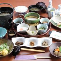 【朝食】朝から五種類の味が楽しめます