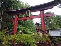 富士北口浅間神社(富士山1合目の上り口)