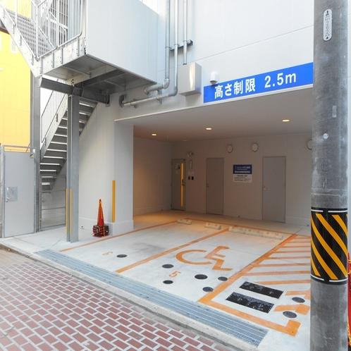【敷地内駐車場】満車時は提携駐車場をご案内します
