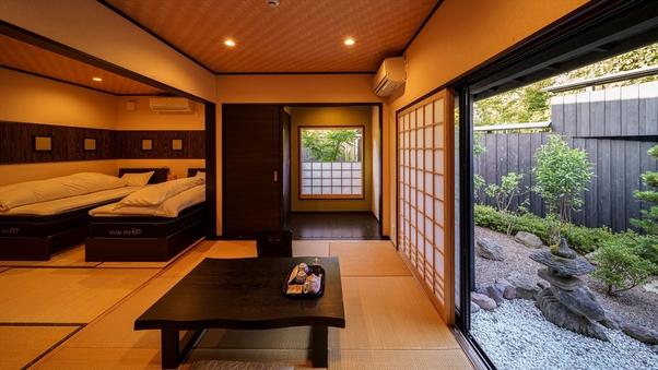 半露天風呂付 離れ和洋室B(10畳和室+ベッドルーム)