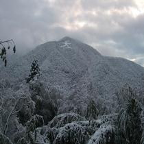 冬の箱根大文字