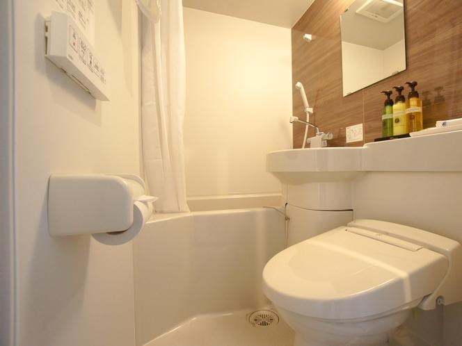 シングルルーム浴室