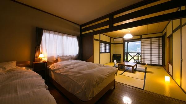 【42平米】絶景 和室10畳洋室8畳 ツインルーム 大人専用