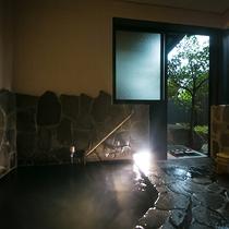 【客室内湯風呂】
