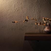 【館内装飾】地元のアーティストさんが手がける森の音アート。館内に様々ございますのでお楽しみください