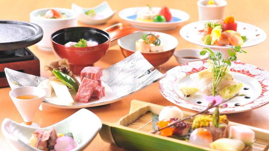 料理長渾身の旬菜和会席(イメージ)