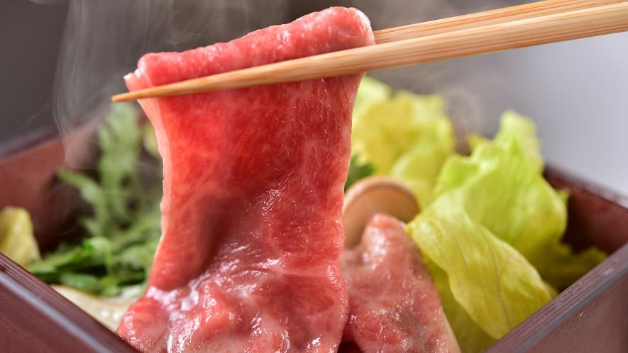 信州プレミアム牛と野菜の温泉蒸し