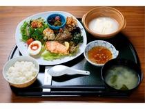 温泉湯豆腐付き朝食