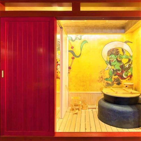 五右衛門風呂の展示品