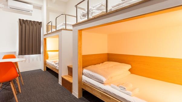 2段ベッドルーム【フォースルーム】【全室完全個室・鍵付】