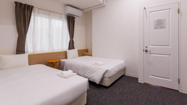 ツインルーム【全室完全個室・鍵付】