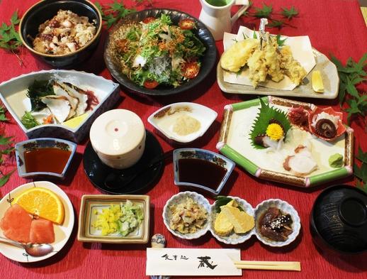 【やっぱ広島じゃ割/広島在住者限定】本場のタコ懐石コースをご堪能頂く夕食付プラン
