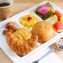 健康朝食バイキング無料