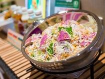Lohasな健康無料朝食【有機JAS認定の野菜サラダ】