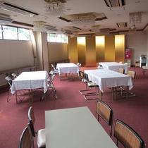 【館内】食堂はこちら☆7:30~8:30になります。
