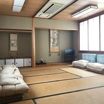 【お部屋】和室17畳ドミトリー