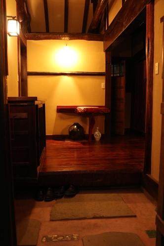 古民家玄関