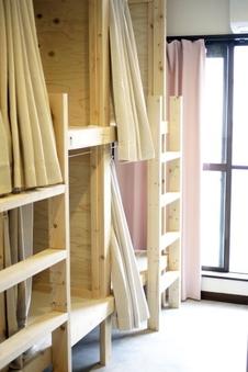 ◆女性専用◆共有部屋◆2段ベッド◆禁煙◆ドミトリー