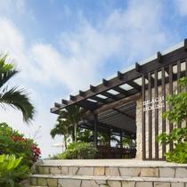 島ブックカフェ 外観入口