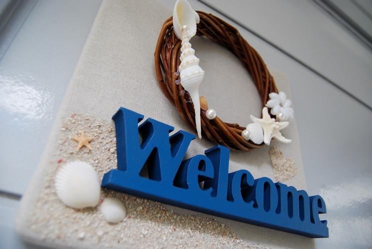 外観:Welcome